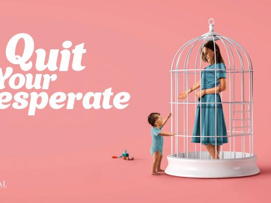 Royal Fertility Center Print Ad - Cage