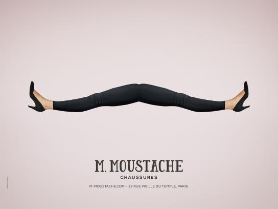 M.Moustache Outdoor Ad - Dandy