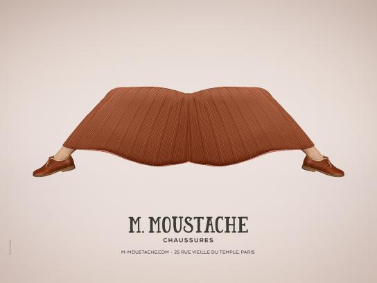 M.Moustache Outdoor Ad - Jupe