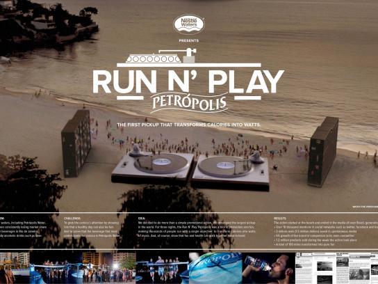 Petrópolis Ambient Ad -  Run 'n play