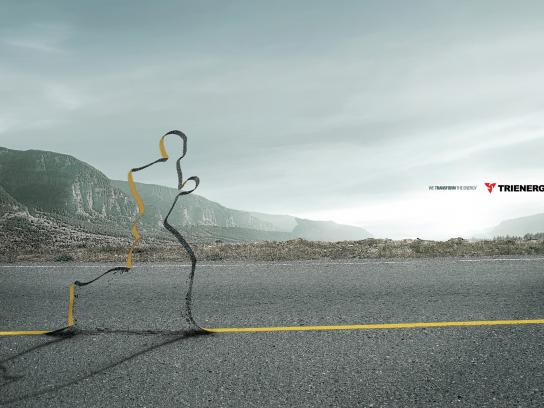Trienergy Print Ad -  Runner