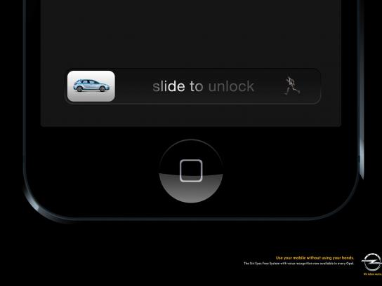 Opel Print Ad -  Runner