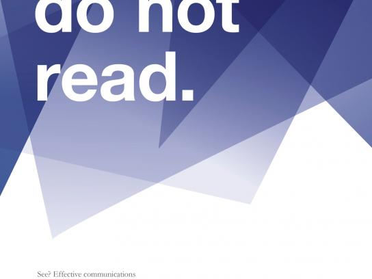 Reichl und Partner Outdoor Ad -  Do not read