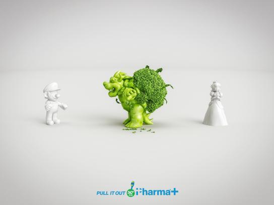 Pharma+ Print Ad - Mario