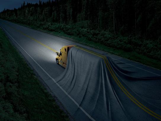 SAAQ Print Ad -  Truck