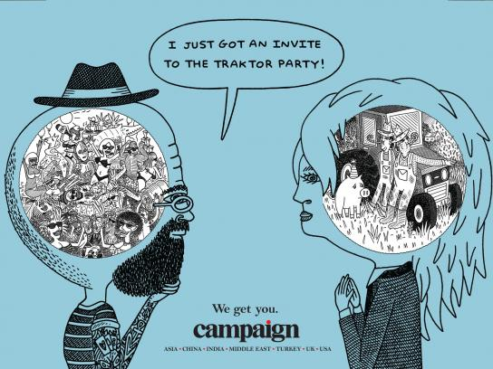 Campaign Print Ad -  We get you, 2