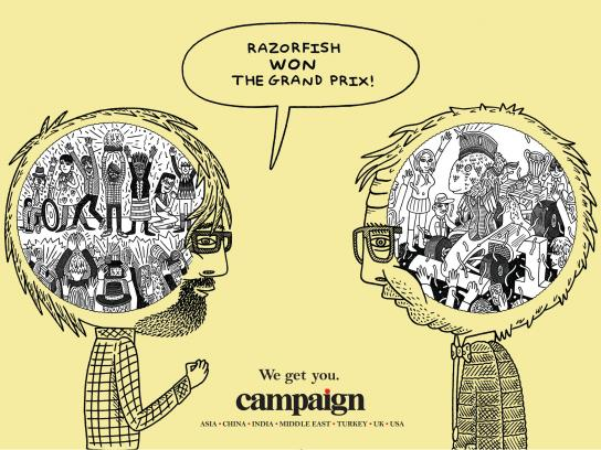 Campaign Print Ad -  We get you, 3