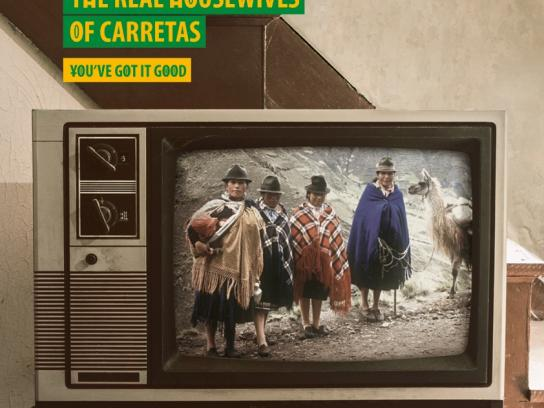 South African Broadcasting Corporation Print Ad -  Housewives