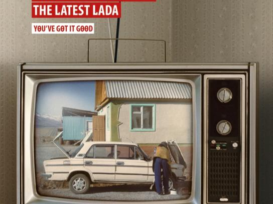 South African Broadcasting Corporation Print Ad -  Lada
