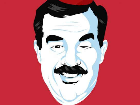 Sansa Print Ad -  Saddam