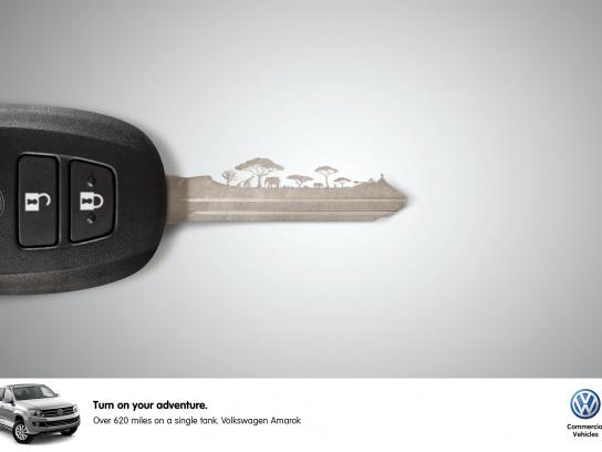 Volkswagen Print Ad -  Safari
