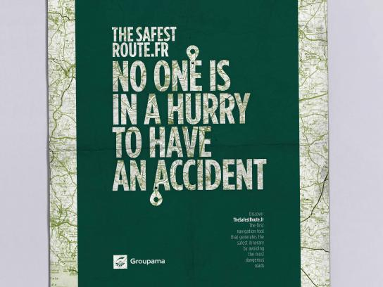 Groupama Print Ad - Hurry