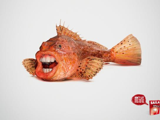 Saila Print Ad -  Breath fish