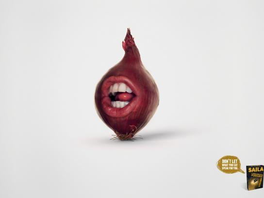 Saila Print Ad -  Breath onion
