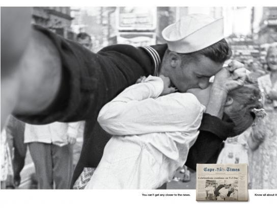 Cape Times Print Ad -  Sailor