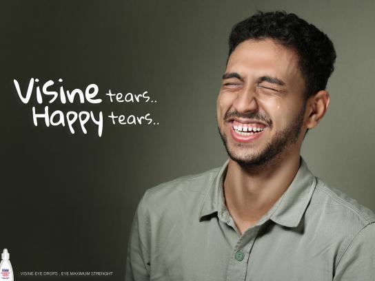 Visine Print Ad - Happy Tears - Salama