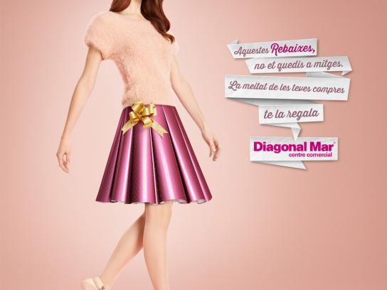 Centre Comercial Diagonal Mar Print Ad -  Sales, 1