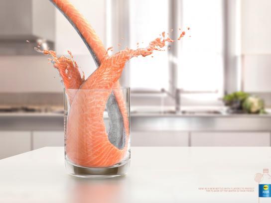 Éxito Print Ad -  Salmon