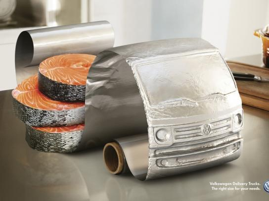 Volkswagen Print Ad -  Salmon
