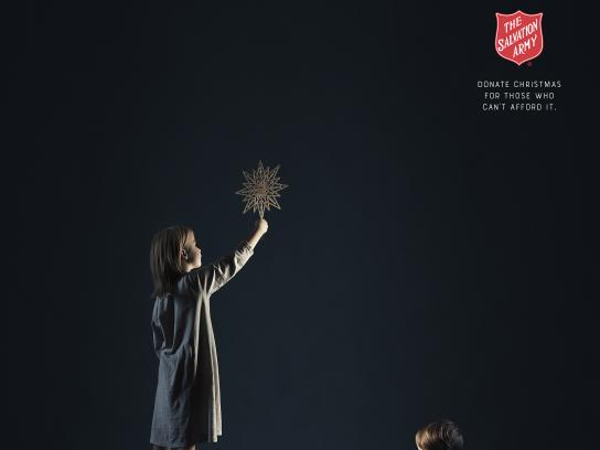Salvation Army Print Ad - Christmas Tree