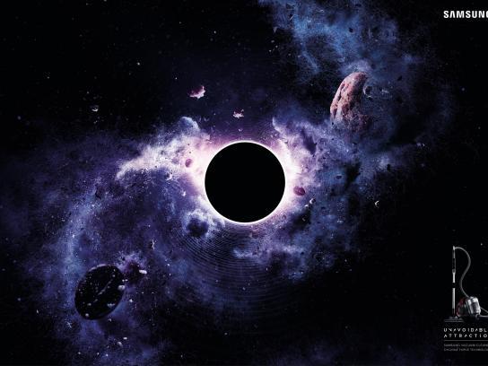 Samsung Print Ad - Black hole, 2