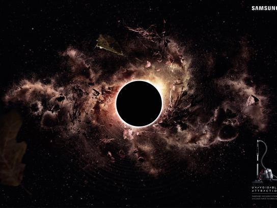Samsung Print Ad - Black hole, 3
