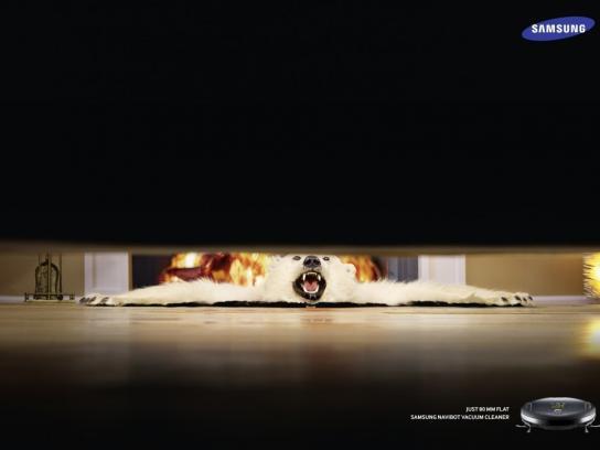 Samsung Print Ad -  Living room