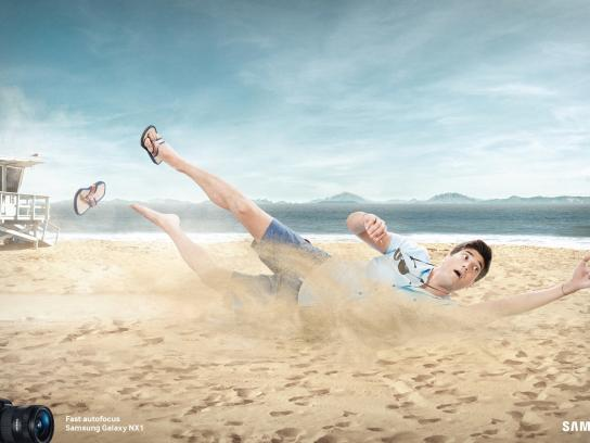 Samsung Print Ad -  Fast autofocus, 2