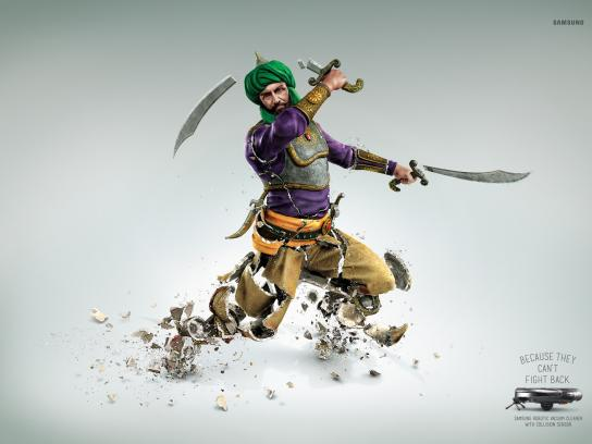 Samsung Print Ad -  Can't fight back, 2