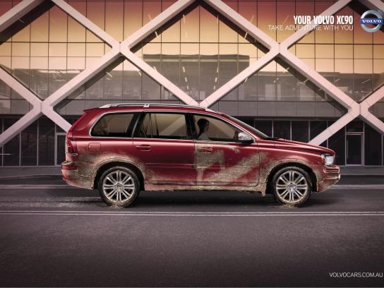 Volvo Print Ad -  Sand