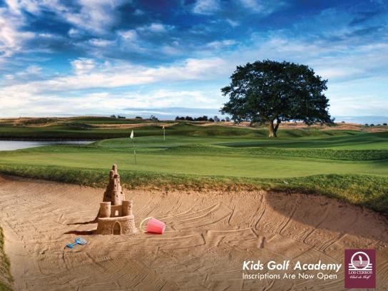 Club Los Cerros Print Ad -  Sandcastle