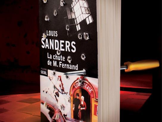 Seuil Print Ad -  Sanders