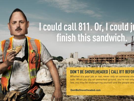 DCP Print Ad -  Sandwich