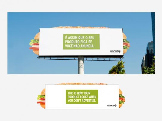 Uranus Outdoor Outdoor Ad -  Sandwich