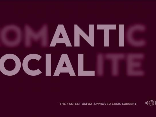 Sankara Eye Hospital Print Ad -  Anti social