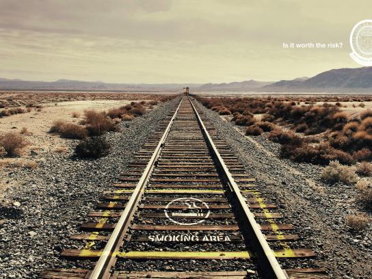 Santa Casa Print Ad -  Train