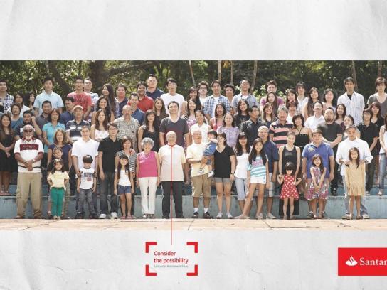 Santander Print Ad -  Family, 2