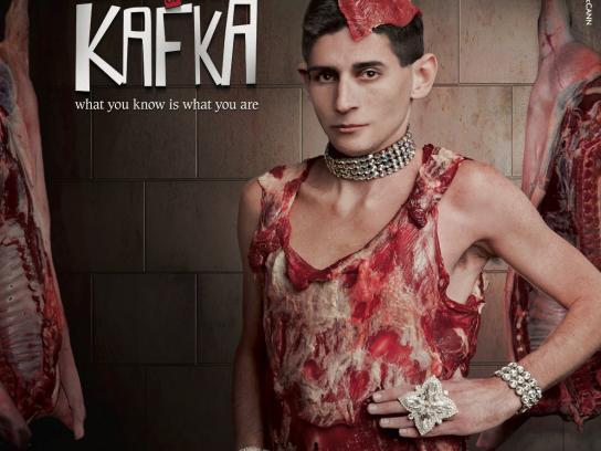 Sapir Print Ad -  Gaga or Kafka