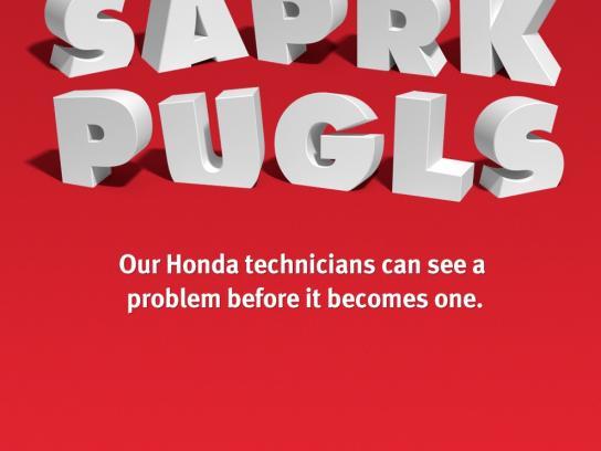 Honda Print Ad -  Saprk Pugls