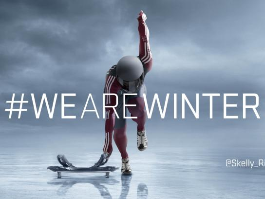 Canadian Olympic Committee Outdoor Ad -  Sarah