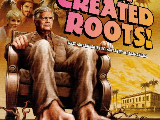 TV Globo Print Ad -  Roots