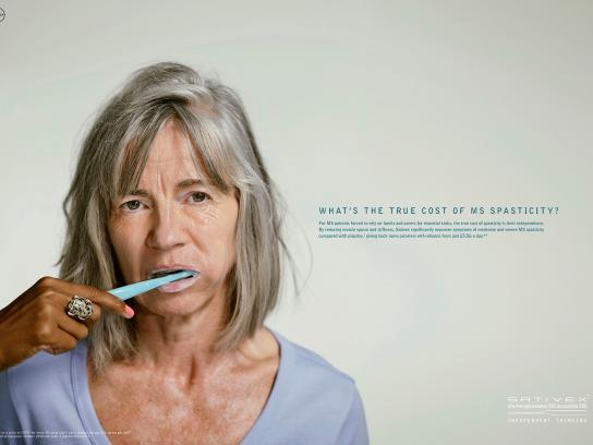 Sativex Print Ad -  Tootbrush