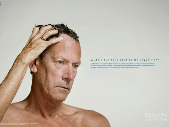 Sativex Print Ad -  Shampoo