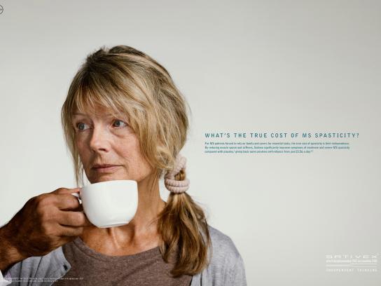 Sativex Print Ad -  Cup