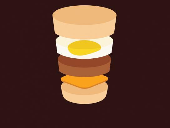 McDonald's Print Ad -  Sausage