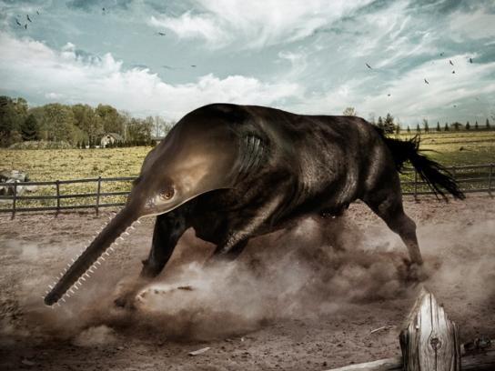 Black&Decker Outdoor Ad -  Sawfish Bull