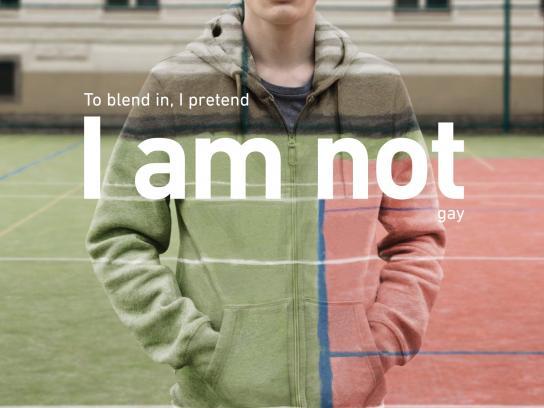 sbarvouven.cz Print Ad -  I am not gay