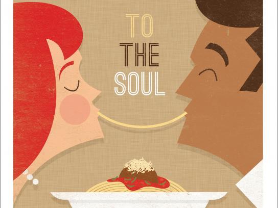 Scaddabush Italian Kitchen & Bar Print Ad -  Lady & The Man