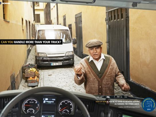 Scania Print Ad -  Can you handle more than your truck, 2