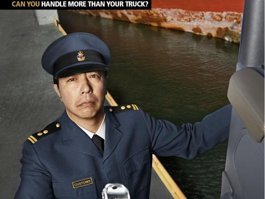 Scania Print Ad -  Can you handle more than your truck, 3